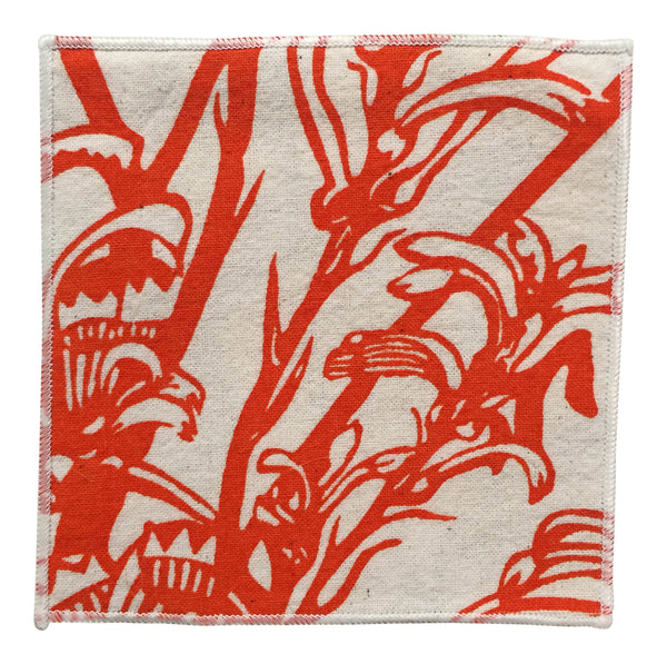 Reversible Coasters - Kangaroo Paw / Shark Bay Rose