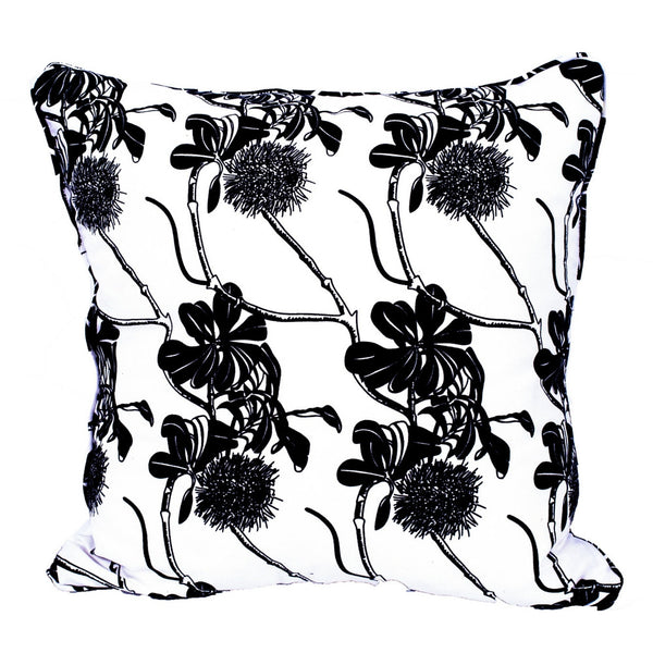 Jude Taylor East Coast Banksia handprinted cushion cover
