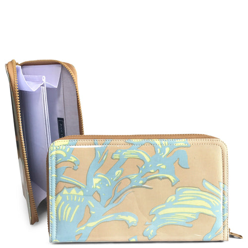 Travel Wallet - Nude Kangaroo Paw