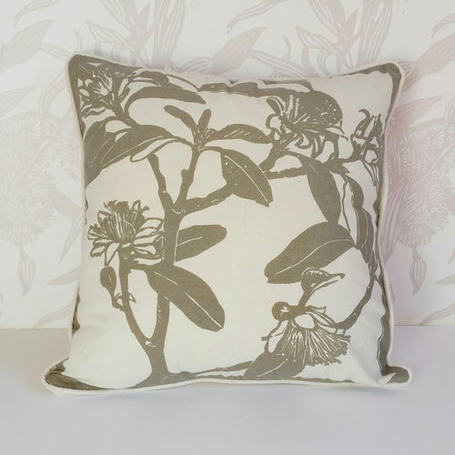 'Stone' Shark Bay Rose Cushion Cover