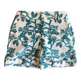 Kids Wildflower Shorts - Blue Shark Bay Rose
