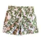 Kids Wildflower Shorts - Green Shark Bay Rose