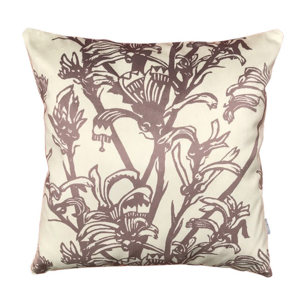 Kangaroo Paw Velvet Cushion Cover