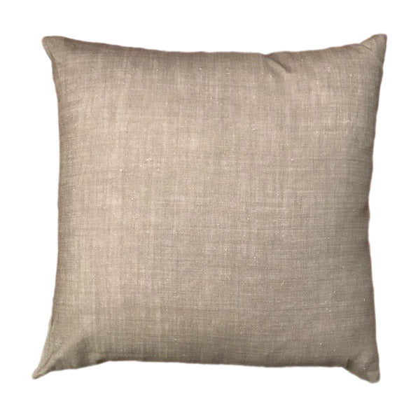Plain Tussock Linen Cushion Cover