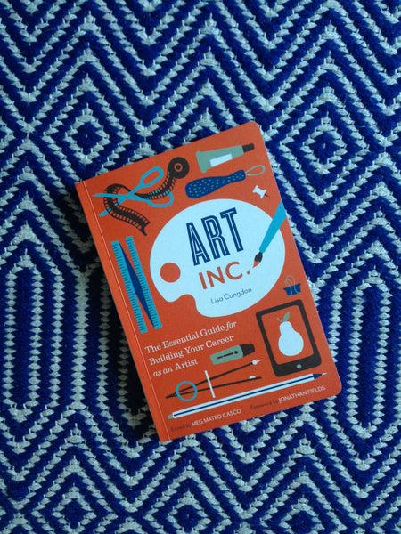 Books for artists: Lisa Congdon's 'Art Inc.'