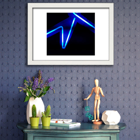 PickArtHome Electric 2 Abstract Neon Print