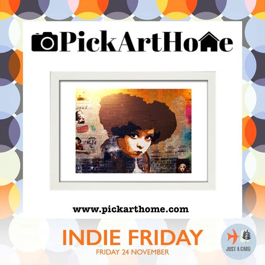 PickArtHome Indie Friday, Just a Card Indie Friday, Support Small business