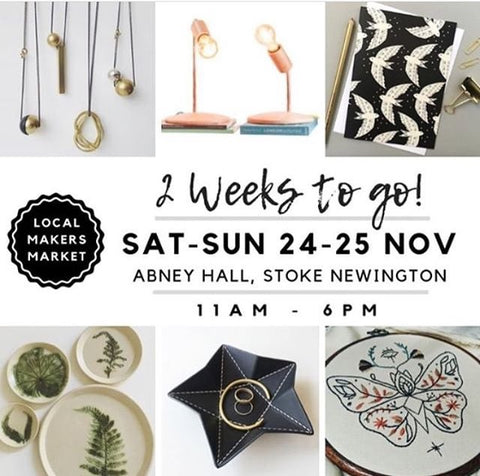 Local makers market, Stoke Newington, Christmas shopping