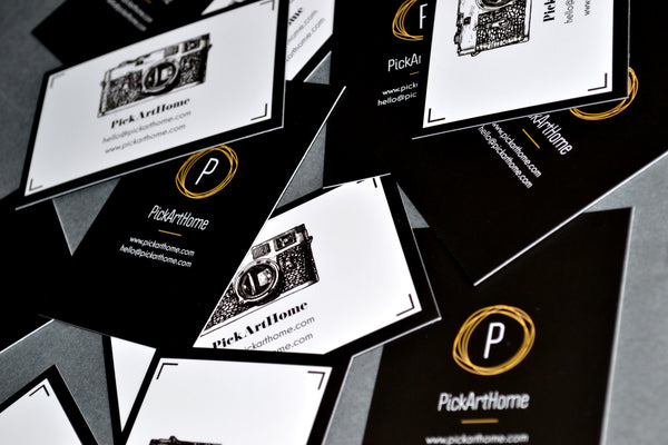 PickArtHome business cards
