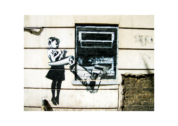 'Cash Machine' Open Edition Street Art Giclée Print by Stephen Pick