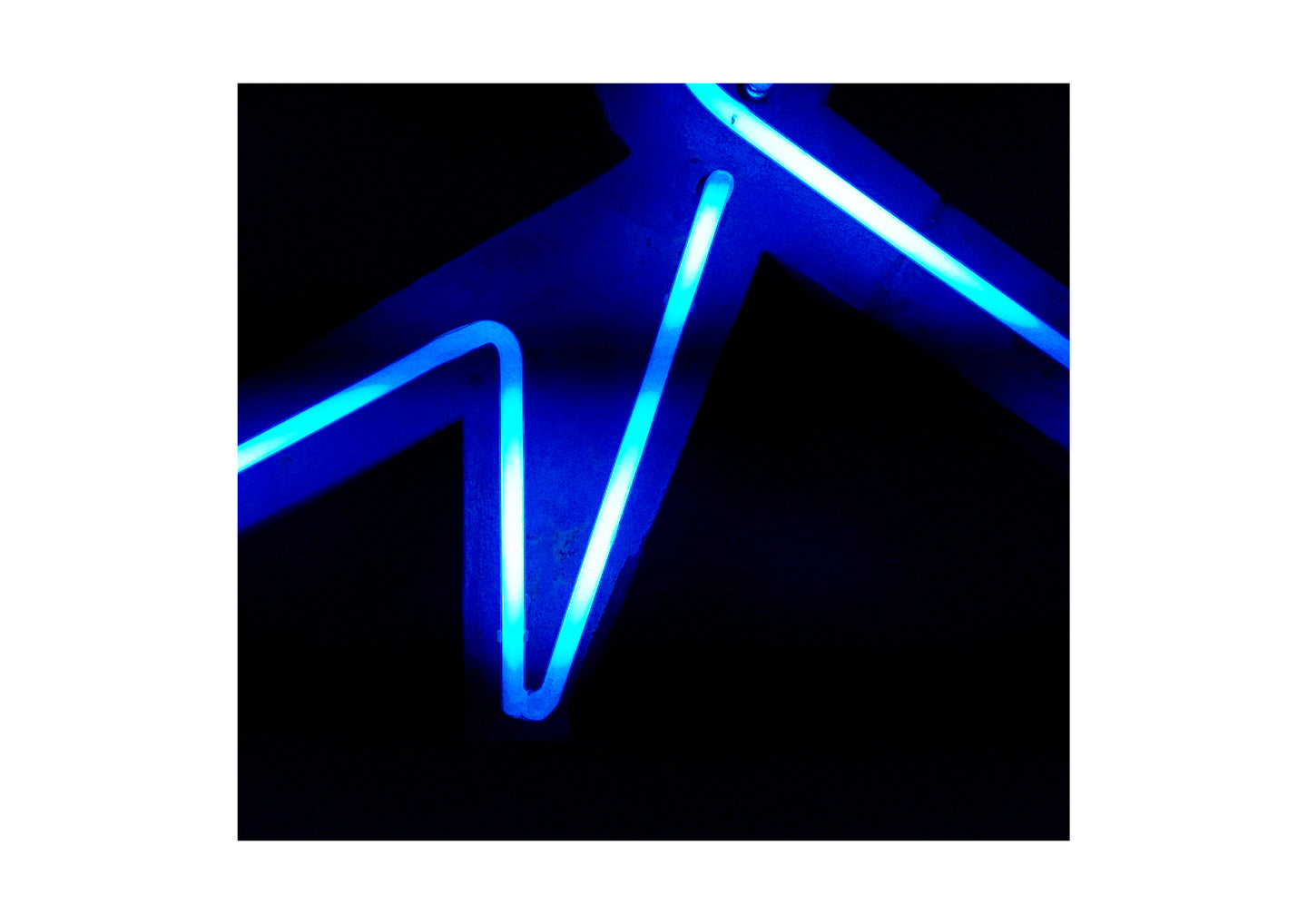 'Electric 2' Limited Edition Giclée Neon Print by Stephen Pick