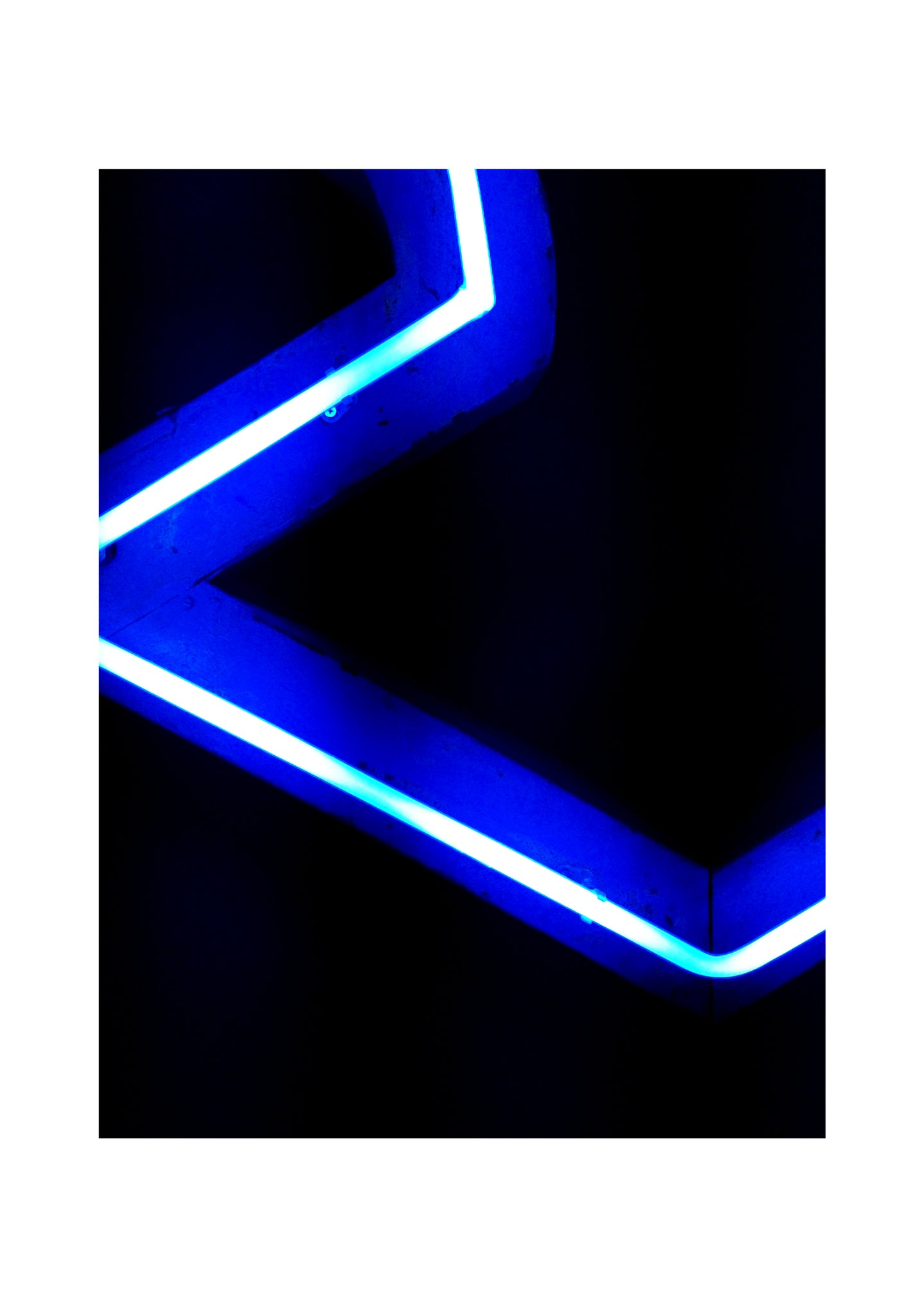 'Electric 1' Limited Edition Giclée Neon Print by Stephen Pick
