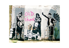 'Old Skool' Limited Edition Giclée Print | PickArtHome Quirky Street Art