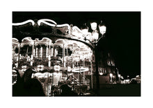 'Paris Carousel' Open Edition Giclée Print by Stephen Pick