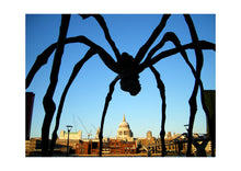 'Spider' Open Edition Giclée Print by Stephen Pick; London wall art