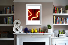 'Spiral 2' Limited Edition Giclée Neon Print by Stephen Pick