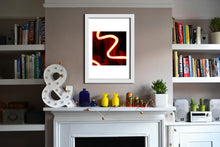 'Spiral 1' Limited Edition Giclée Neon Print by Stephen Pick