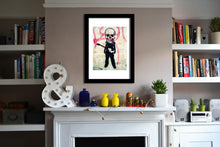 'Skel' Open Edition Giclée Print by Stephen Pick