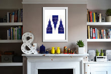 'Warsaw3 Blue' Open Edition Giclée Print by Stephen Pick