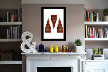 'Warsaw3 Red' Open Edition Giclée Print by Stephen Pick