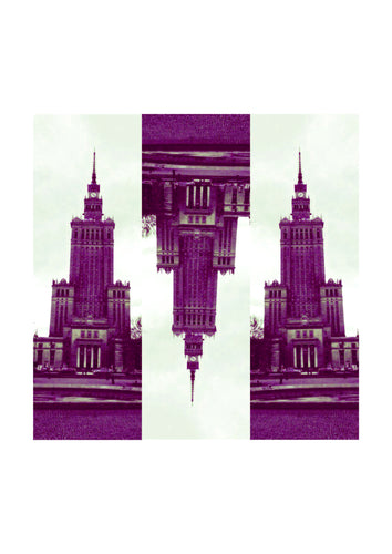 'Warsaw3 Purple' Open Edition Giclée Print by Stephen Pick