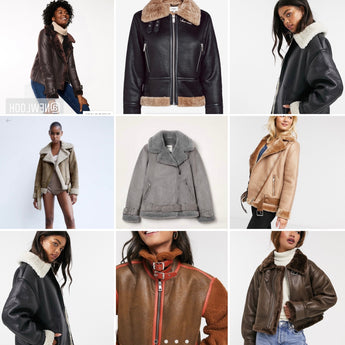 Looking for an aviator jacket? Then here are my faves out there right now!