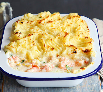 Really easy & delicious (& a bit cheaty) fish pie 🐠