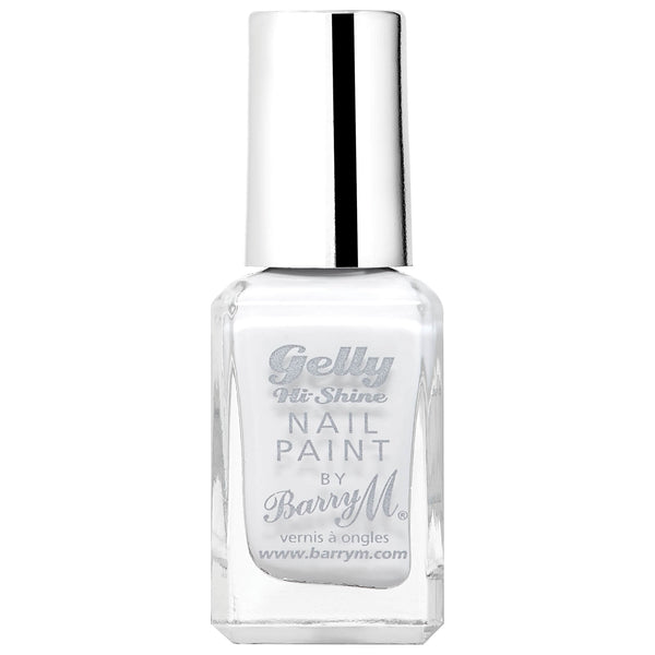 The best white nail varnish!