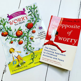 Have an anxious child? Then these two books could change their life (and yours)