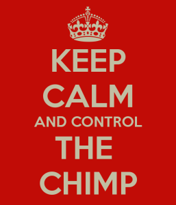 Be aware of the chimp in you!!