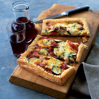 Easiest mediterranean vegetable tart (& can be made gluten free!)