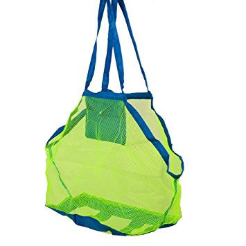Mega practical mesh beach bag!