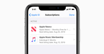 iPhone: remember to check your subscriptions every now & again!