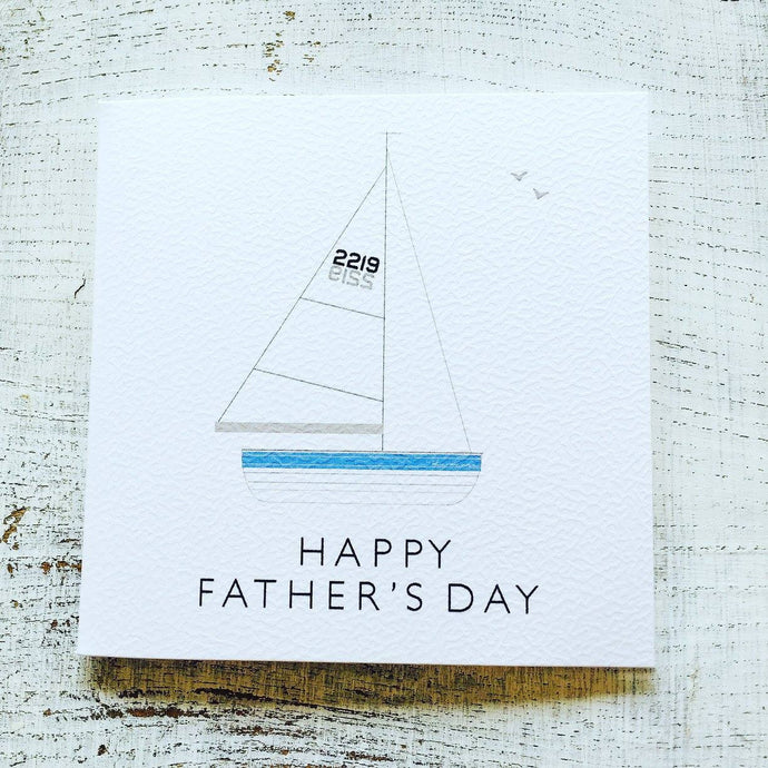 Father's day yacht card