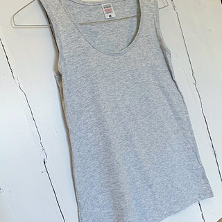 The perfect grey vest top! (Fab for layering over)