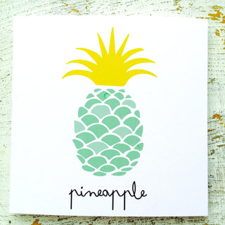 Pineapple multipack of 10 cards