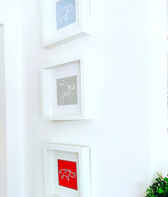 Origami animal frames – Lucy Dodwell