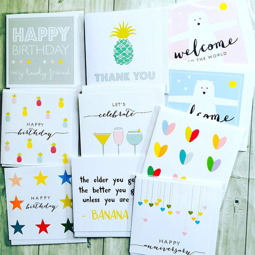 Selection pack of 10 cards for different occasions *SPECIAL OFFER*