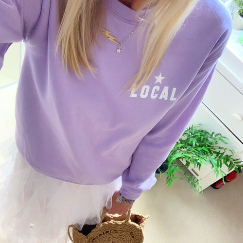 *NEW* Lilac LOCAL sweatshirt