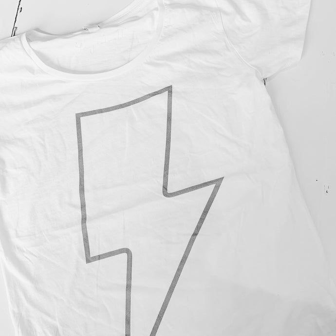 White flash tee *SALE*