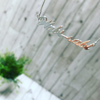 WABI - SABI sterling silver necklace