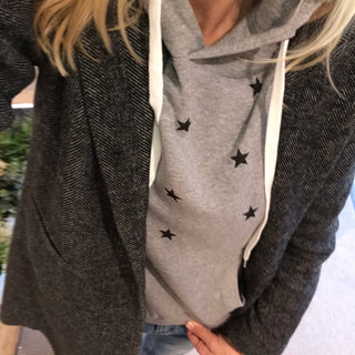 Little black stars hoody