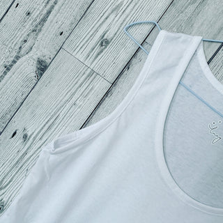 The perfect white vest top! (Fab for layering over)