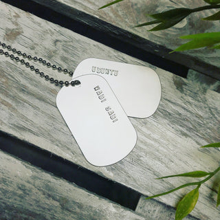 *NEW* Dog tag necklaces