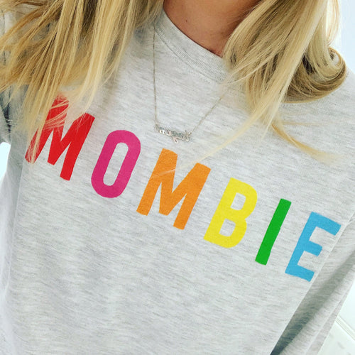 *NEW* MOMBIE multicoloured sweatshirt
