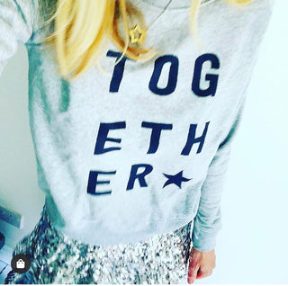 TOGETHER sweatshirt *now raising money for a covid vaccine*