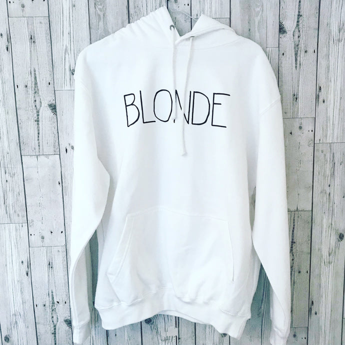 Blonde hoody  (medium uk 12)