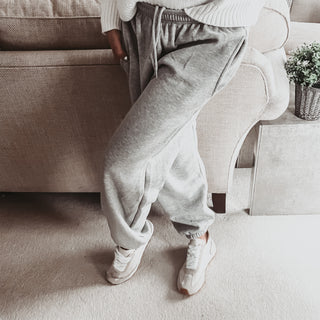 Grey Super slouchy joggers *new*