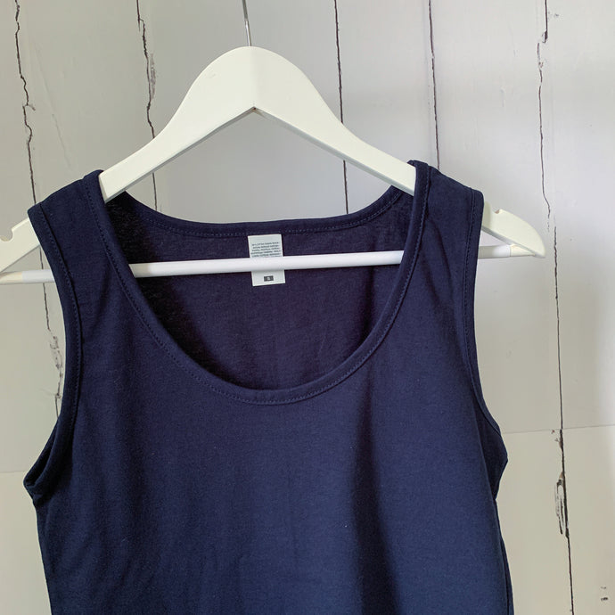 The perfect navy vest top! (Fab for layering over too!)