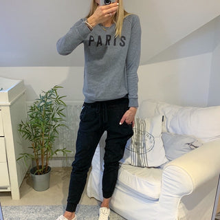 Grey PARIS sweatshirt